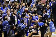 DESCRIZIONE : Milano Coppa Italia Final Eight 2014 Finale Montepaschi Siena Banco di Sardegna Sassari<br /> GIOCATORE : Stefano Sardara<br /> CATEGORIA : post game esultanza<br /> SQUADRA : Banco di Sardegna Sassari<br /> EVENTO : Beko Coppa Italia Final Eight 2014 <br /> GARA : Montepaschi Siena Banco di Sardegna Sassari<br /> DATA : 09/02/2014 <br /> SPORT : Pallacanestro <br /> AUTORE : Agenzia Ciamillo-Castoria/N.Dalla Mura<br /> GALLERIA : Lega Basket Final Eight Coppa Italia 2014 <br /> FOTONOTIZIA : Milano Coppa Italia Final Eight 2014 Finale Montepaschi Siena Banco di Sardegna Sassari