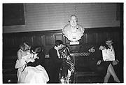 VALENTINO Ball, Oxford Union. Feb 1984