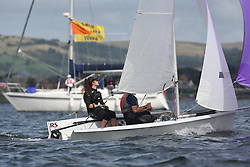 Peelport Clydeport Largs Regatta Week 2013 <br /> <br /> RS200, Niamh Harper and Richard Harper<br /> <br /> Largs Sailing Club, Largs Yacht Haven, Scottish Sailing Institute