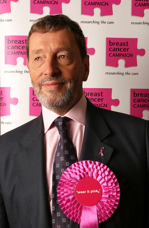 David Blunkett<br /> Client Wear it pink campaign for Breast Cancer Care