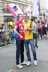 Pride London <br /> setting up before the Parade and during the Parade <br /> London, Great Britain <br /> 25th June 2016 <br /> <br /> <br /> <br /> <br /> Photograph by Elliott Franks <br /> Image licensed to Elliott Franks Photography Services