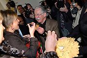 Princess Laurentien has opened on 16 February 2006 the Dick Bruna house in Utrecht This new museum has been entirely dedicated to the oeuvre of Dick Bruna, the utrechtse artist who became world-famous with its creation nijntje. The dick bruna house are part of the central museum<br /> <br /> Prinses Laurentien heeft 16 februari 2006 het dick bruna huis in Utrecht geopend.<br /> <br /> Dit nieuwe museum is volledig gewijd aan het oeuvre van Dick Bruna, de Utrechtse kunstenaar die wereldberoemd werd met zijn creatie nijntje. Het dick bruna huis is onderdeel van het Centraal Museum.<br /> <br /> Op de foto / On the photo: Dick Bruna en Prinses Laurentien