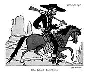 The Searchers : Ethan Edwards - John Wayne