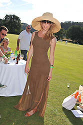 ANDREA TESE at a cricket match to in aid of CARE - Corfu Animal Rescue Establishment held at Hawkley Cricket Club, Hawkley, Hampshire on 8th September 2012.