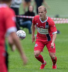 Philip Rejnhold (FC Helsingør) under kampen i Sydbank Pokalen, 1. runde, mellem Bispebjerg Boldklub og FC Helsingør den 2. september 2020 i Lersø Parken (Foto: Claus Birch).