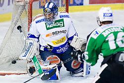 Bernhard Starkbaum (EC Rekord-Fenster VSV, #29) during ice-hockey match between HDD Tilia Olimpija and EC Rekord-Fenster VSV in 46th Round of EBEL league, on Februar 6, 2011 at Hala Tivoli, Ljubljana, Slovenia. (Photo By Matic Klansek Velej / Sportida.com)