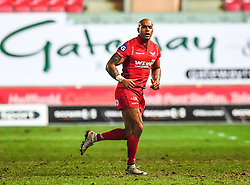 Scarlets' Tom Varndell makes his Scarlets debut<br /> <br /> Photographer Craig Thomas/Replay Images<br /> <br /> Guinness PRO14 Round 17 - Scarlets v Leinster - Friday 9th March 2018 - Parc Y Scarlets - Llanelli<br /> <br /> World Copyright © Replay Images . All rights reserved. info@replayimages.co.uk - http://replayimages.co.uk