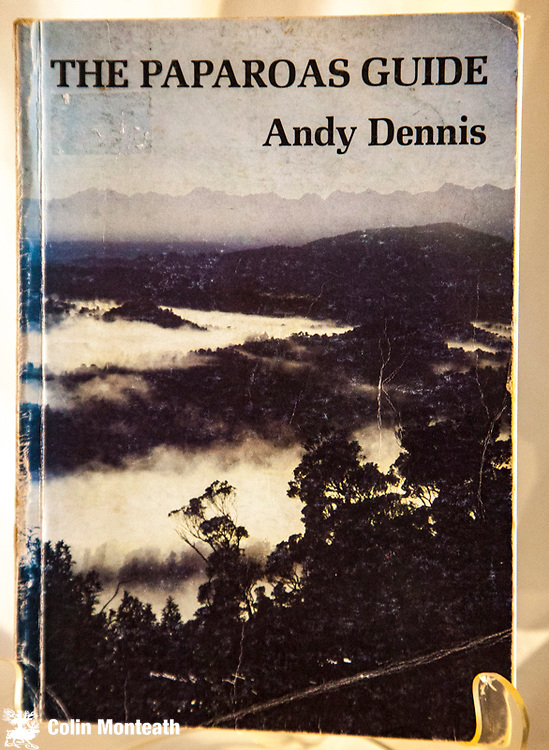 THE PAPAROAS GUIDE,  Andy Dennis, published by Native Forests Action Council, Nelson, 1981, 248 page softbound guide book to history, natural history to the Paparoa Range and Costal region between Grey and Buller rivers - covers a tad worn but internally fine $NZ45