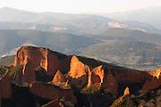 Las Medulas Roman gold mine spain castile and leon