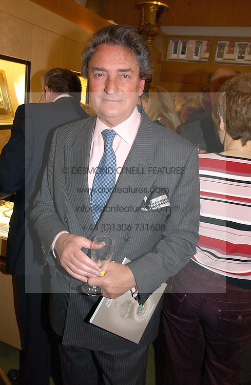 WILLIAM TALLON at an exhibition of fine jewellery at Wartski's, Grafton Street, London on 15th May 2006.<br /><br />NON EXCLUSIVE - WORLD RIGHTS