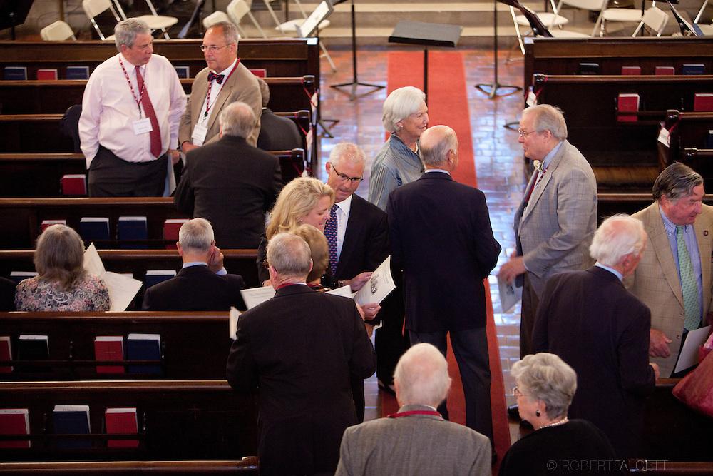 The Taft School, Alumni Weekend 2012. Service of Remembrance, Woodward Chapel.  (Photo by Robert Falcetti).facebook.com/robertfalcettiphotography | www.robertfalcetti.com. .