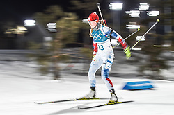 February 12, 2018 - Pyeongchang, Gangwon, South Korea - Jessica Jislova of Czech Republic competing at Women's 10km Pursuit, Biathlon, at olympics at Alpensia biathlon stadium, Pyeongchang, South Korea. on February 12, 2018. (Credit Image: © Ulrik Pedersen/NurPhoto via ZUMA Press)
