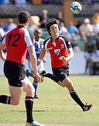 Nathan Hirayama, Canada during the IRB Rugby Sevens tournament held at Adelaide Oval,Adelaide, South Australia,Saturday, April 5, 2008.<br /> Photo;Michael Oakes/SMP<br /> Conditions of Use: This image is intended for editorial use only (EG: news or commentary, print or electronic).  Any commercial or promotional use requires additional clearance.  Please contact for details.