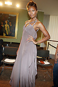 """Eva Marcille at b.michael America Spring 2010 Collection """" Advanced American Style """" held at Christie's in Rockefeller Plaza on September 16, 2009 in New York City."""