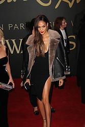 Joan Smalls, The British Fashion Awards 2014, The London Coliseum, London UK, 01 December 2014, Photo By Brett D. Cove © Licensed to London News Pictures. 02/12/2014. Brett D Cove/PIQ/LNP