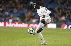 November 6, 2019, Madrid, Spain: Real Madrid CF's Ferland Mendy seen in action during the UEFA Champions League match between  Real Madrid and Galatasaray SK at the Santiago Bernabeu in Madrid. (Credit Image: © Manu Reino/SOPA Images via ZUMA Wire)