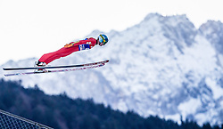 31.12.2013, Olympiaschanze, Garmisch Partenkirchen, GER, FIS Ski Sprung Weltcup, 62. Vierschanzentournee, Qualifikation, im Bild Jan Ziobro (POL) // Jan Ziobro (POL) during qualification Jump of 62nd Four Hills Tournament of FIS Ski Jumping World Cup at the Olympiaschanze, Garmisch Partenkirchen, Germany on 2013/12/31. EXPA Pictures © 2014, PhotoCredit: EXPA/ JFK