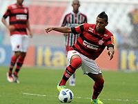 20111009: RJ, BRAZIL -  Football match between Flamengo and Fluminense at Engenhao stadium in Rio de Janeiro. In picture Luiz Antonio<br /> PHOTO: CITYFILES