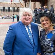 NLD/Den Haag/20190917 - Prinsjesdag 2019, Ton Elias en partner Monique de Vos