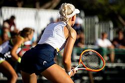 PORTOROZ, SLOVENIA - SEPTEMBER 17: Nika Radisic of Slovenia competes during the 3rd Round of WTA 250 Zavarovalnica Sava Portoroz at SRC Marina, on September 17, 2021 in Portoroz / Portorose, Slovenia. Photo by Matic Klansek Velej / Sportida