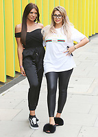 Abbie Holborn & Chloe Ferry, Geordie Shore 15 - Series Launch Photocall, MTV HQ, London UK, 29 August 2017, Photo by Brett D. Cove
