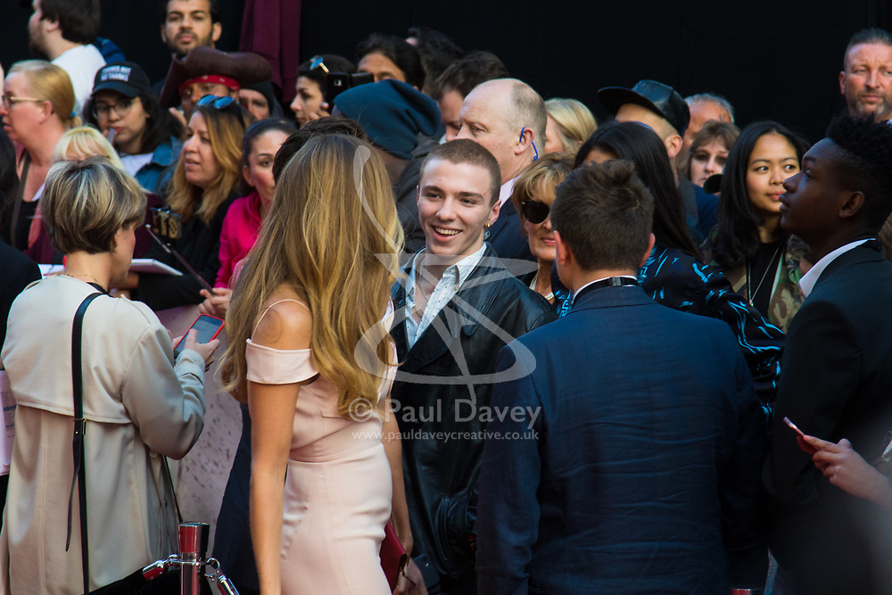 London, May 10th 2017. Rocco Ritchie attends the European premiere of King Arthur - Legend of the Sword at the Cineworld Empire in Leicester Square.