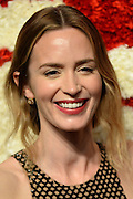 Oct. 15, 2015 - New York, NY, USA - <br /> <br /> Emily Blunt attending the 2015 God's Love WE Deliver Golden Heart Awards at Spring Studios on October 15, 2015 in New York City.<br /> ©Exclusivepix Media