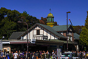 Harajuku Station is a railway station in Shibuya, Tokyo, Japan near the Meiji Jingu shinto Shrine
