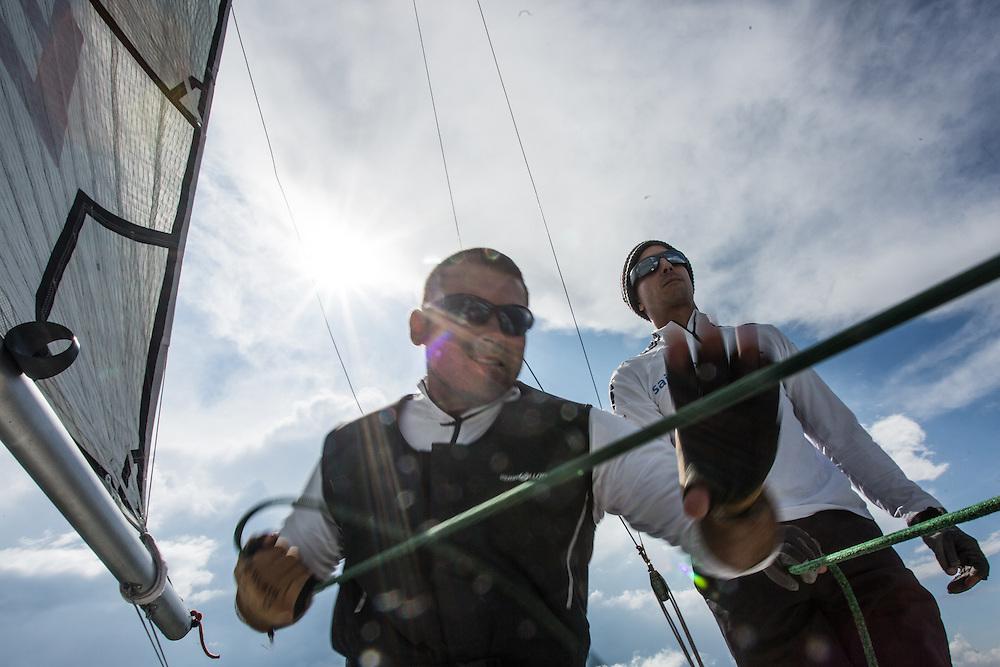 World Match Racing Tour - Energa Sopot Match Race || 2015-07-28,  Sopot, Poland || © Copyright 2015 || Robert Hajduk - WMRT || All Rights Reserved ||