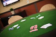 Black Jack Card Table
