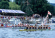Henley, GREAT BRITAIN,  Temple Challenge Trophey, Berks Goldie [Cambridge Uni] and Bucks IC [Imperial College, London] Henley Royal Regatta, Henley Reach, 2-6 July 1997, Henley, ENGLAND [Mandatory Credit, Peter Spurrier/Intersport-images] 1997 Henley Royal Regatta, Henley, Great Britain
