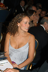 ANDREA DELLAL at the Chain of Hope Autumn Ball Fiesta held at The Dorchester, Park Lane, London on 6th October 2004.