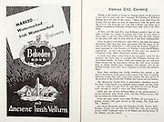 All Ireland Senior Hurling Championship Final,.06.09.1959, 09.06.1959, 6th September 1959,.Minor Kilkenny v Tipperary, .Senior Kilkenny v Waterford, Waterford 3-12. Kilkenny 1-10, ..Advertisement, Belvedere Bond, Ancient Irish Vellum,
