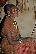 Datoga woman.  Lake Eyasi, northern Tanzania.