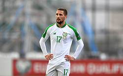Republic of Ireland's Conor Hourihane during the UEFA Euro 2020 Qualifying, Group D match at the Victoria Stadium, Gibraltar.