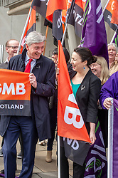 Pictured: Richard Leonard and Monica Lennon<br />