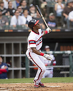 CHICAGO - MAY 19:  Tim Anderson #7 of the Chicago White Sox bats against the Toronto Blue Jays on May 19, 2019 at Guaranteed Rate Field in Chicago, Illinois.  (Photo by Ron Vesely)  Subject:  Tim Anderson