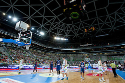 Arena Stozice during last friendly match before Eurobasket 2013 between National teams of Slovenia and France on August 31, 2013 in SRC Stozice, Ljubljana, Slovenia. (Photo by Urban Urbanc / Sportida.com)