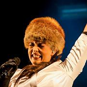 NLD/ENSCHEDE/20121224 - SERIOUS REQUEST DAG 7 EINDSTAND - Caro Emerald