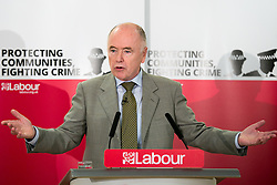 © Licensed to London News Pictures. 25/2/2016, Birmingham, UK. Jack Dromey at the launch of the Labour campaign for Police and Crime Commissioner Elections. Photo credit : Dave Warren/LNP