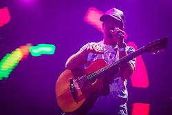 Jason Mraz se apresenta no Palco Planeta durante a 22ª edição do Planeta Atlântida. O maior festival de música do Sul do Brasil ocorre nos dias 3 e 4 de fevereiro, na SABA, na praia de Atlântida, no Litoral Norte gaúcho.  Foto: Jefferson Bernardes / Agência Preview