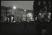 Before dawn, New college Ball. 1983, Oxford: The Last Hurrah. Negative scans.