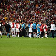 NLD/Amsterdam/20070811 - 12de Johan Cruijff Schaal, Ajax - PSV, vechtpartij op het veld