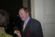 Andrew Parker Bowles. Annabel Freyberg and Andrew Barrow drinks party. The Royal Geographical Society. 5 January 2006. ONE TIME USE ONLY - DO NOT ARCHIVE  © Copyright Photograph by Dafydd Jones 66 Stockwell Park Rd. London SW9 0DA Tel 020 7733 0108 www.dafjones.com