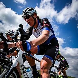 16-04-2016: Wielrennen: IJsseldelta Topcompetitie vrouwen: Zwolle<br />ZWOLLE (NED) wielrennen<br /> Wind was in deze editie de grootste tegenstanders van de vrouwen. Kirsten Wild zat mij in de kopgroep in de wedstrijd ddoor haar achtertuin