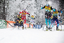 Lucas Chanavat (FRA) during Man team sprint race at FIS Cross Country World Cup Planica 2019, on December 22, 2019 at Planica, Slovenia. Photo By Peter Podobnik / Sportida