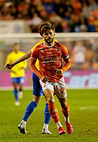 Football - 2021 / 2022 EFL Carabao Cup - Round Two - Blackpool vs. Sunderland -Bloomfield Road - Tuesday 24th August 2021<br /> <br /> Luke Garbutt of Blackpool, at Bloomfield Road.<br /> <br /> COLORSPORT/Alan Martin