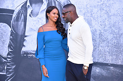 Idris Elba and Sabrina Dhowre attending the premiere of Yardie at the BFI Southbank, London. Picture date: Tuesday August 21st, 2018. Photo credit should read: Matt Crossick/ EMPICS Entertainment.