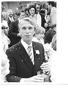 Bill Reed. 1985 approx. © Copyright Photograph by Dafydd Jones 66 Stockwell Park Rd. London SW9 0DA Tel 020 7733 0108 www.dafjones.com