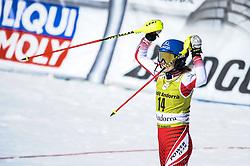 March 16, 2019 - El Tarter, Andorra - Bernadette Schild of Austria Ski Team, during Ladies' Giant Slalom Audi FIS Ski World Cup race, on March 16, 2019 in El Tarter, Andorra. (Credit Image: © Joan Cros/NurPhoto via ZUMA Press)